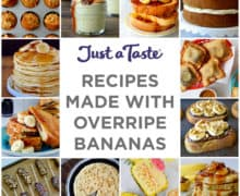 Recipes to Make with Overripe Bananas