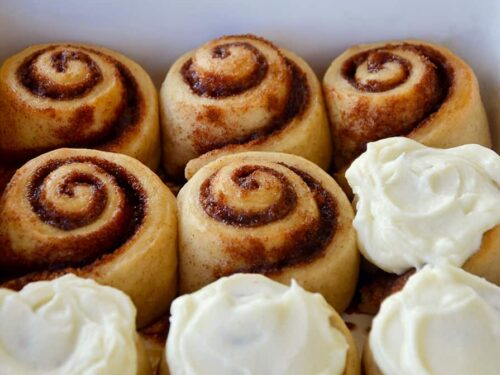 Easy Homemade Cinnamon Rolls Without Yeast Just A Taste