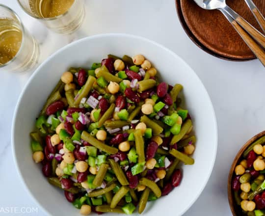 Classic Three-Bean Salad