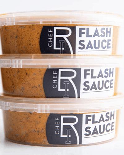Flash Sauce by Chef Richard Ingraham
