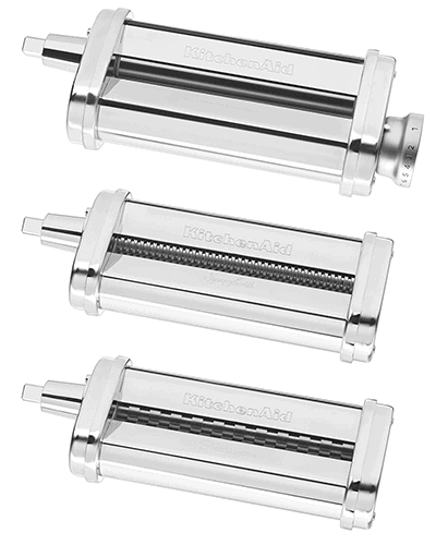 KitchenAid pasta roller attachments