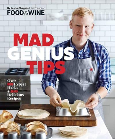 Mad Genius Tips cookbook cover