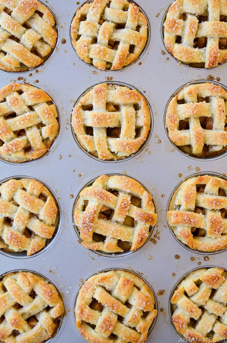 Muffin Tin Mini Apple Pies