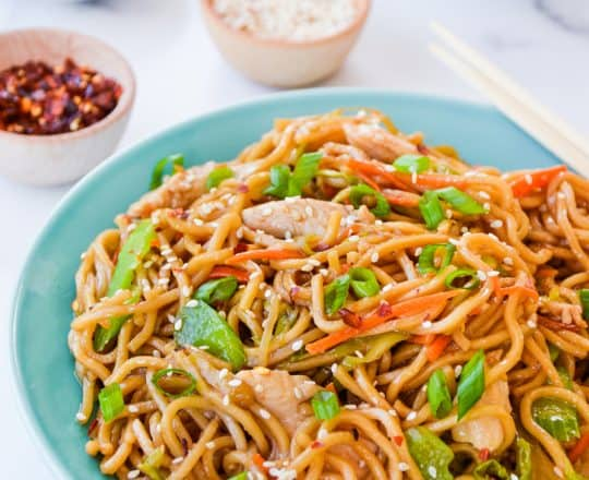 Quick Chicken Chow Mein