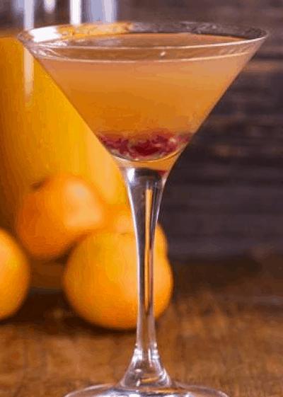Pomegranate Clementine Martini
