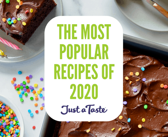 The Most Popular Recipes of 2020