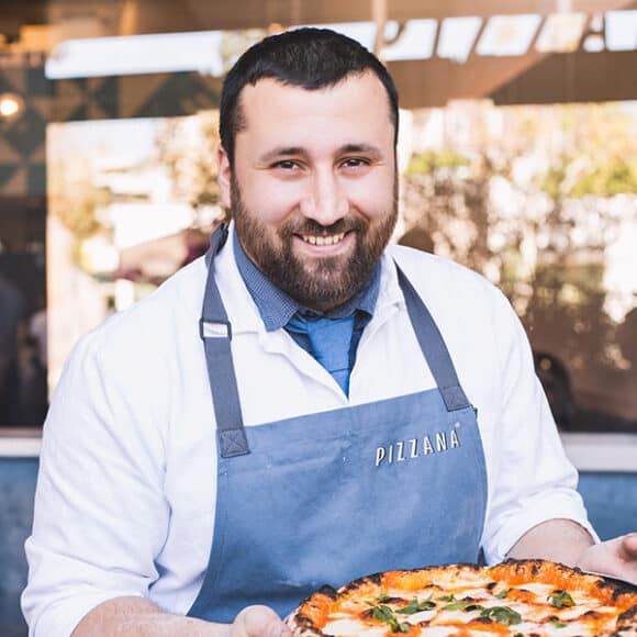 Daniele Uditi of Pizzana restaurant