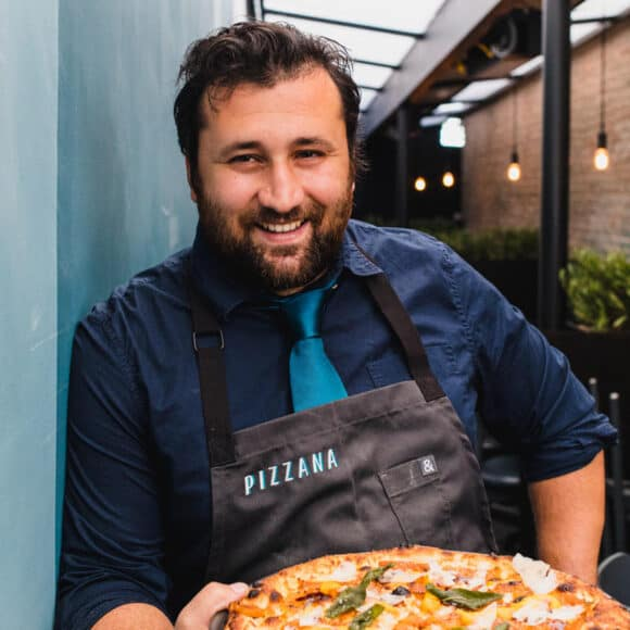 Daniele Uditi, chef at Pizzana in Los Angeles