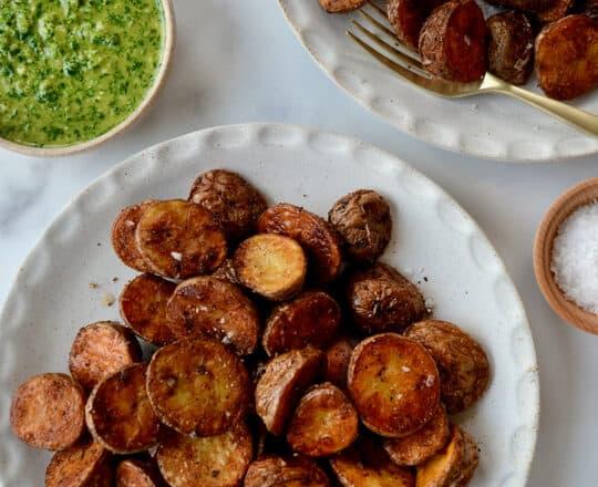 Extra Crispy Roasted Potatoes
