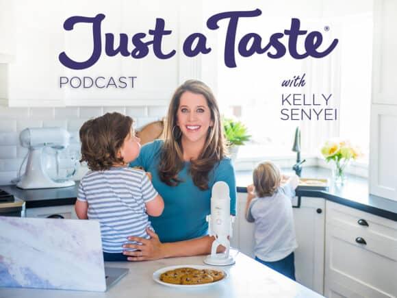 Kelly Senyei on The Just a Taste Podcast
