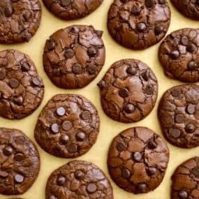 Chocolate Chip Brownie Cookies Recipe